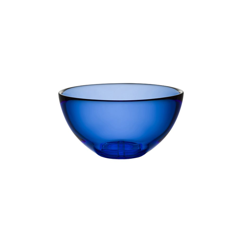 Small Serving Bowl Water Blue by Orrefors Kosta Boda