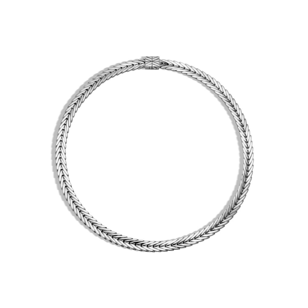 Sterling Silver Modern Chain Necklace