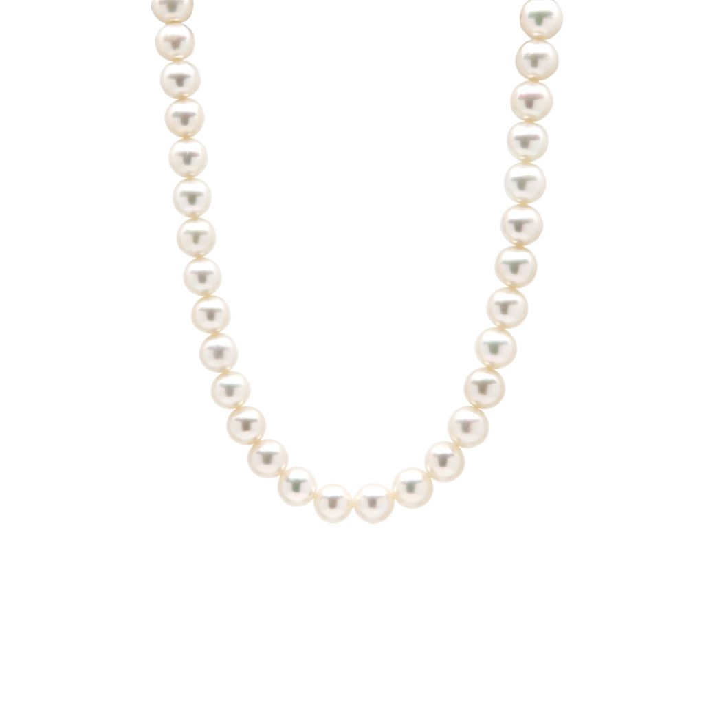 14K Yellow Gold Freshwater Pearl Strand Necklace