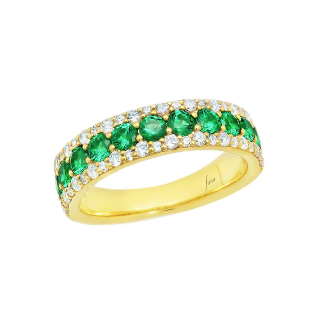"""""""None Like You"""" Emerald and Diamond Ring"""